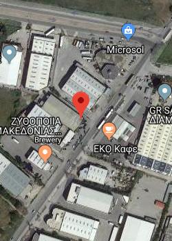 AR-CON Θεσσαλονίκη Χάρτης
